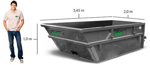 5 kub. åpen container til tunge masser, stein, jord, betong i Oslo/Akershus/Dram