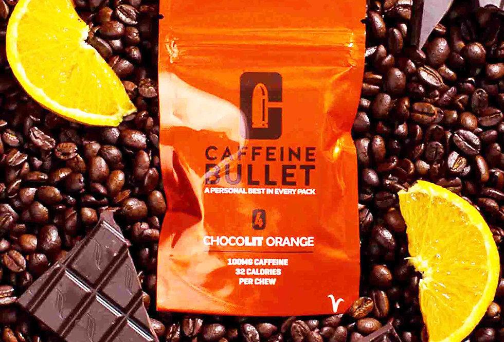 30 Packets - 120 Chocolate Orange Caffeine Chews