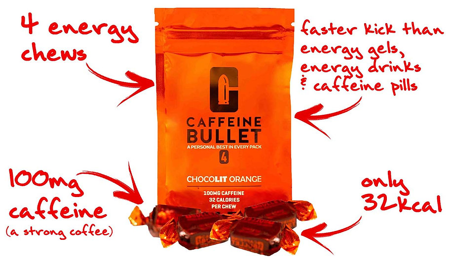 Energy Chews Kick Faster Than Energy Gel