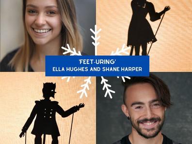 Feet-uring... Ella Hughes and Shane Harper