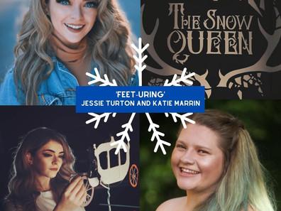 Feet-uring... Jessie Turton and Katie Marrin