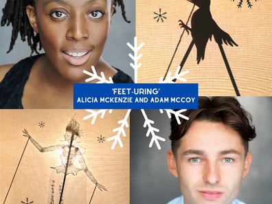 Feet-uring Alicia McKenzie and Adam McCoy
