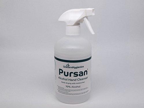 H172. Pursan Alcohol Hand Cleanser. 500ml x 8
