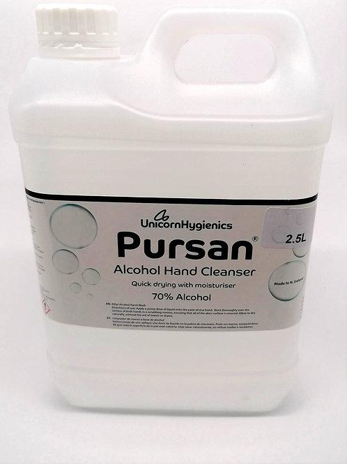 Pursan Sanitiser 2.5L Cartridge for the pedal operated hand sanitiser dispenser