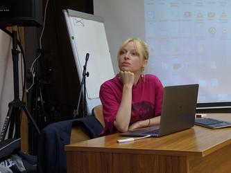 Мастер-класс с ведущим fashion и рекламным фотографом Ольгой Тупоноговой-Волковой.