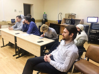 Питчинг дипломных работ учащихся режиссерского курса.