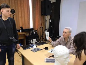 Мастер-класс Ольги Полесовщиковой.
