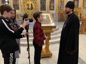 Программа «Сами делаем кино» в воскресной школе