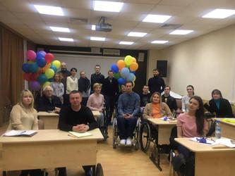Первые занятия киношколы состоялись в реабилитационном центре «Преодоление».