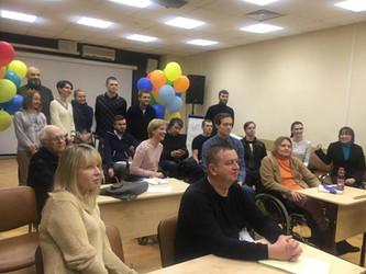 """Гостем киношколы """"Без границ"""" стал известный телеведущий и актёр Борис Корчевников"""