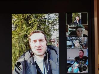 Мастер-класс с кинорежиссёром Резо Гигинеишвили