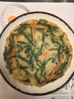 A4. Veggie Pancakes 부추전