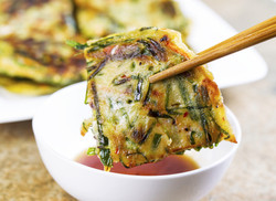 Korean Veggie Pancakes