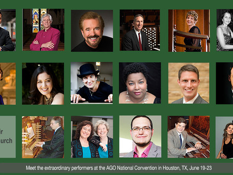 2016 - June 24th   Duo MusArt in Concert, AGO National Convention, USA