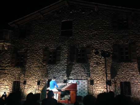 2016 - August 10th   Outdoors concert in the beautiful Country of Andorra