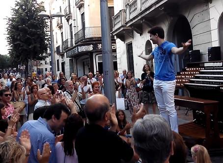 2017 - July 15th | Concert Outdoors Mataró-Barcelona