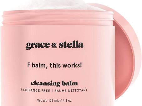 Grace & Stella Makeup Melt Cleansing Balm - F-Balm - Vegan - Makeup Remover Cleansing Balm