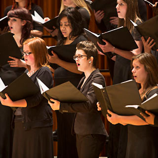 2016 - November 5th   Concert with the Statesmen, Women's Chorus, & Choral Union at Ball Sta