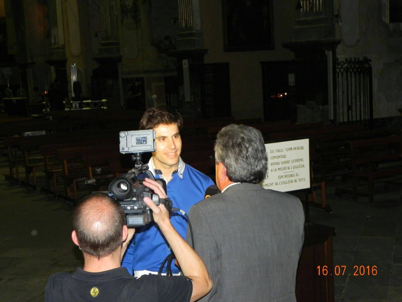 TV interview Artistic Director