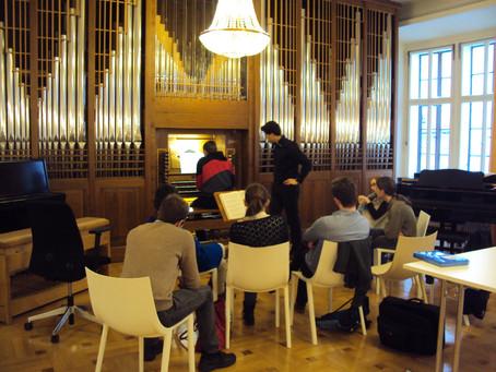 2015 - December 11th   Masterclass Graz University, Austria