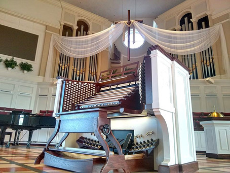 2016 - April 17th   The Raul Experience inaugurate the new organ at Manchester UMC,Missouri, USA