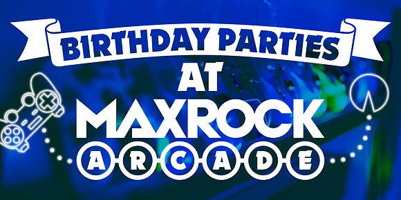 MaxRock Birthday Parties Eventbrite Grap