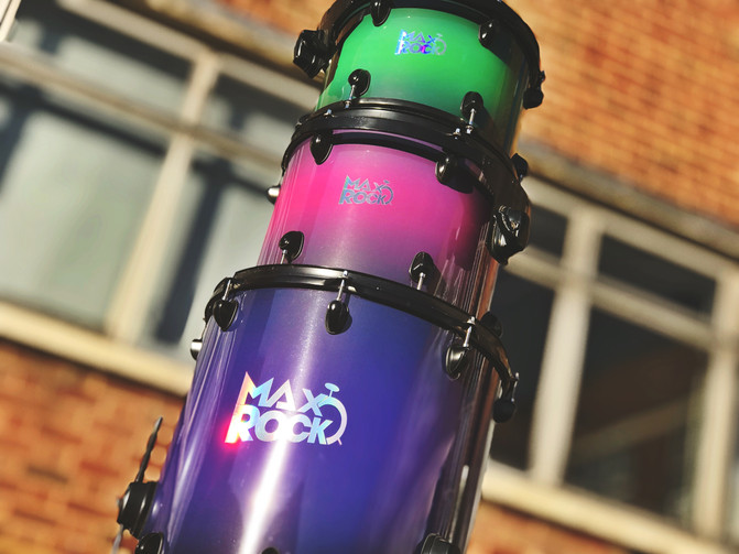 Colourful Drums!