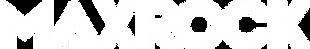 MaxRock Horizontal Logo (White).png