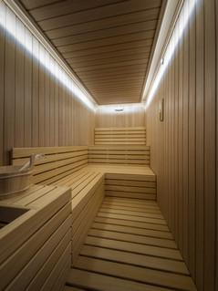 Relax in the Finnish Sauna