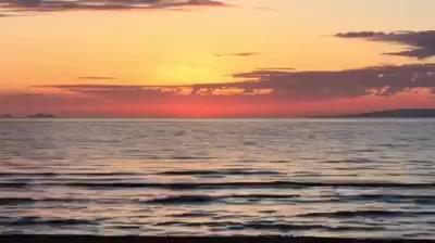Sunset at Punta Ala