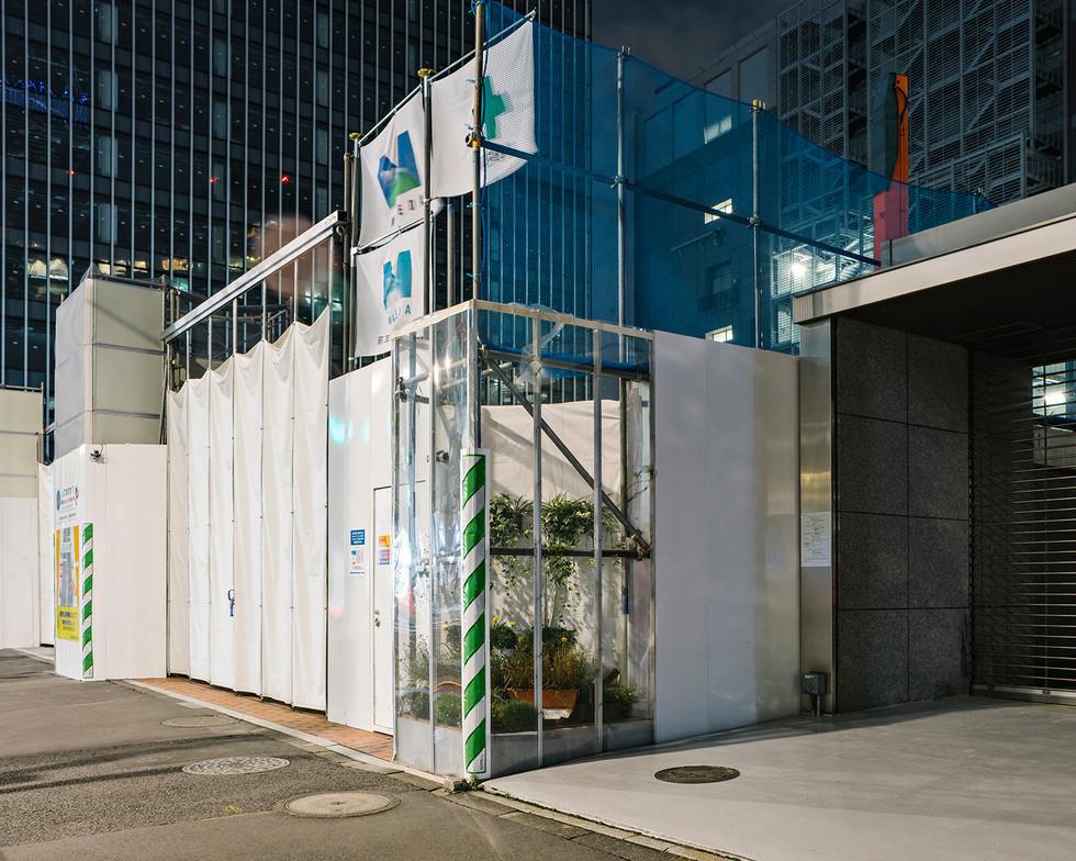 w Retorno - construcion site Shinjuku.jp