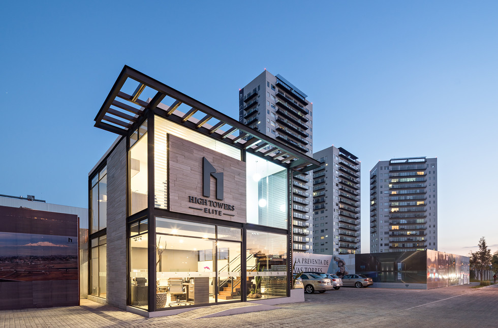 Showroom High Towers LJD arquitectura