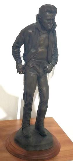James Dean bronze, D.Young