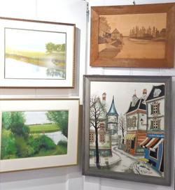 Yoshi Koseki and antique/vintage artwork