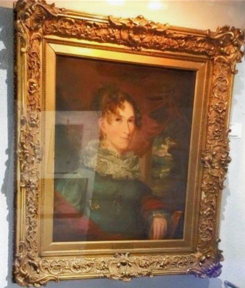 Grace Fletcher Webster by Gilbert Stuart