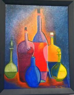 Bottles oil, T.Mostov