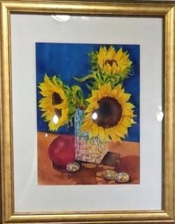 Three Flowers & A Plum M.Chabot