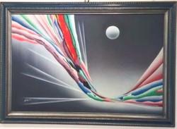 Moon Tide acrylic, Kingston