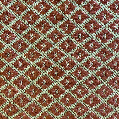 Woven Red Gold Diamond