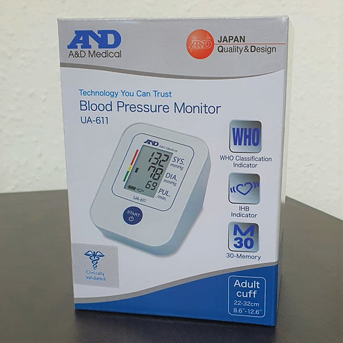 A&D UA-611 BLOOD PRESSURE MONITOR