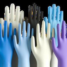 Nitrile Gloves - Various Colours & Sizes