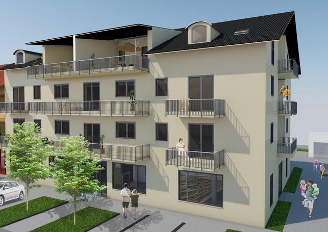 Wohn- & Geschäftshaus. Bezugsfertig ab Sommer 2020