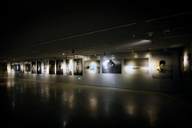 "PhotoExhibition""BABY""inChina展示風景"