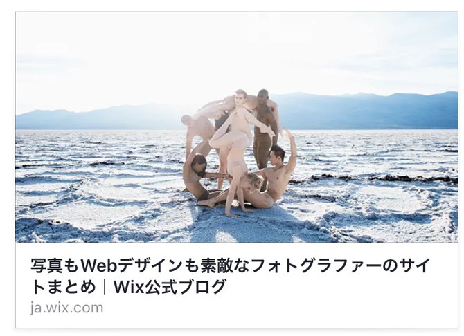 WixBlogにてofficial siteが紹介されています。