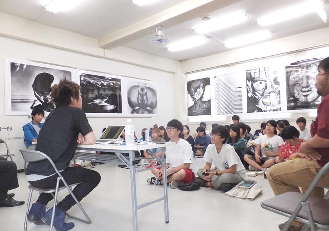 内倉真一郎写真展&講義開催。