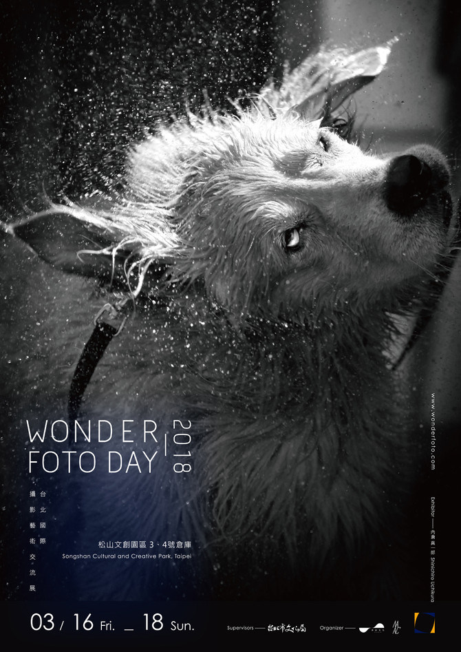 "Wonder Foto Day""犬の戦士団""ポスター"