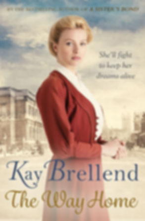 kay brellend, the way home book cover