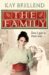kay brellend, book cover, the family