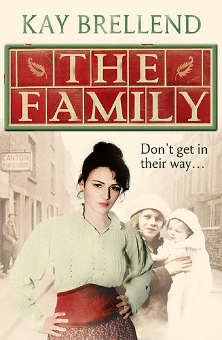 kay brellend, book cover, the family