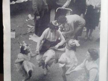 Coronation Day celebrations.
